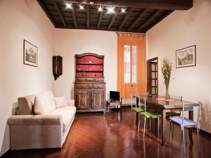 Living room - Trevi Fountain holiday apartment - Rome - rentals