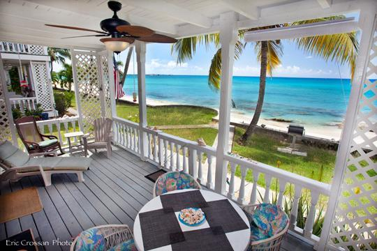Grill and Dine 25 feet from the Caribbean - SeaBreeze Getaway - A Reasonable Oceanfront Condo - Frederiksted - rentals