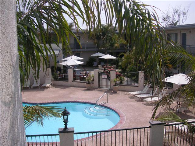Tropical Grounds overlooking pool - Beautiful Beach Properties Steps to the Ocean - Carpinteria - rentals