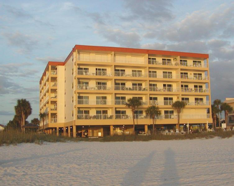 Madeira Norte from beach at sunset - Condo on Madeira Beach, Florida - Madeira Beach - rentals