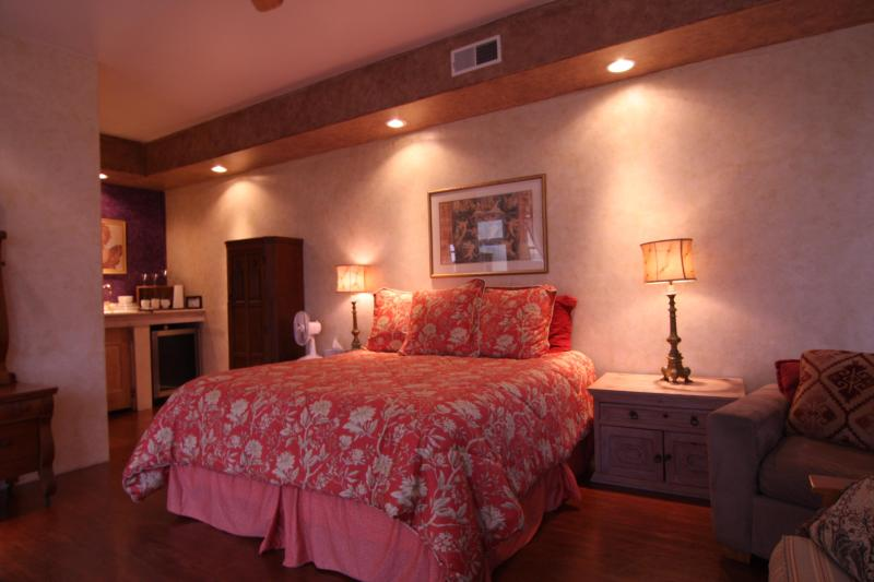 Another view of King bed in Lovely Suite I - Gorgeous Ocean View Penthouse ~ Additional Suites - Laguna Beach - rentals