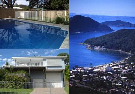 Shoal Bay Riggers is situated in picturesque Port Stephens. Stunning location. - 5 bedroom holiday house. Pool. Walk to beach. - Shoal Bay - rentals