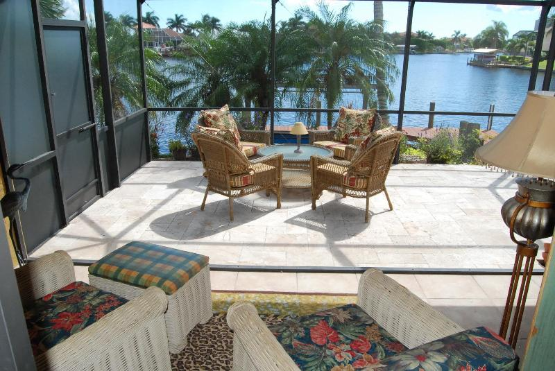 Lanai - House Bayview with Pool - Cape Coral - rentals