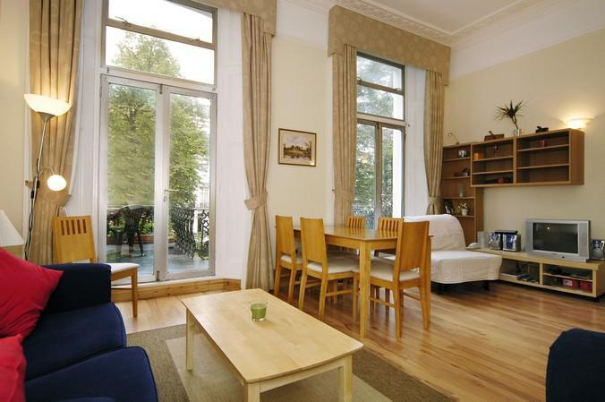 Lovely flat overlooking private garden square - St. Stephens Gardens in Notting Hill Gate - London - rentals