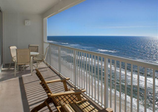 Views from Balcony! - BEAUTIFUL BEACHFRONT FOR 8! OPEN 8/23-30! SUMMER WEATHER FALL RATES! - Panama City Beach - rentals