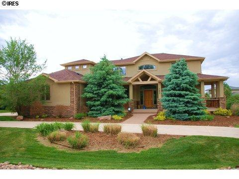 Front of house - Luxury Boulder County rental in upscale Niwot - Niwot - rentals