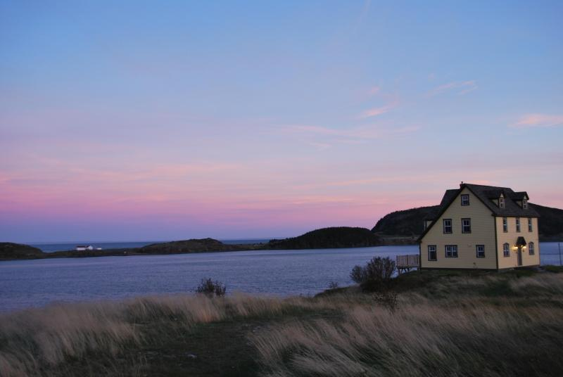 View of house overlooking Trinity Harbour - Commander's Keep Vacation Home: 4 1/2 Star Rating - Trinity - rentals