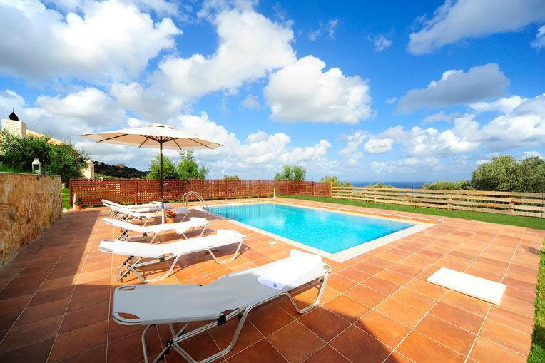 Pool with a view - Cosy Villa with pool overlooking the Agean Sea - Rethymnon Prefecture - rentals