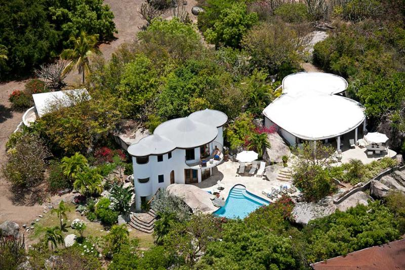 On The Rocks at Little Trunk Bay Estate, Virgin Gorda - Ocean View, Pool, Quick Access To Beautiful White-Sand Beaches - Image 1 - Virgin Gorda - rentals