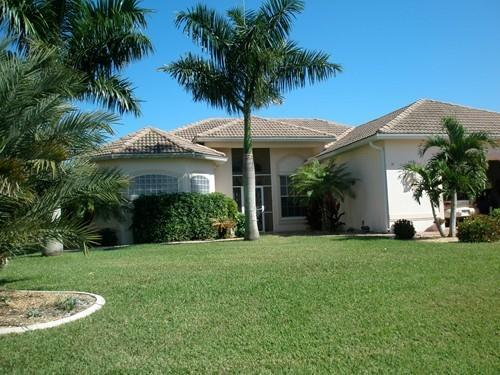 Front view - 4 Bedroom/3 Bath, Canal, Pool Home, By Cape Harbor - Cape Coral - rentals