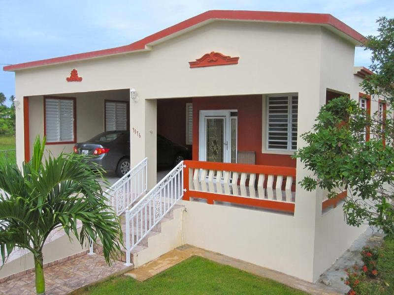Front of house - 3 bedroom home near beaches & town; quiet area - Isabela - rentals