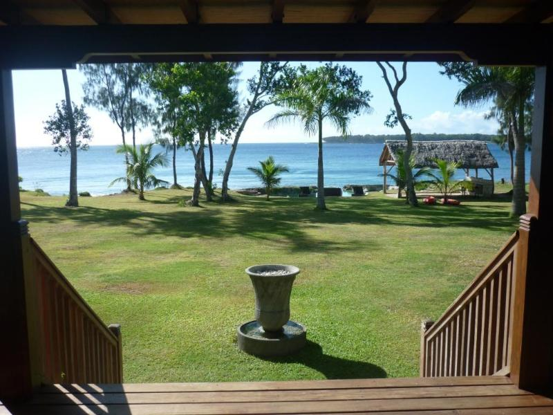 Beautiful ocean view from the deck at Pacifique Vue - Pacifique Vue - luxury waterfront villa Port Vila - Port Vila - rentals