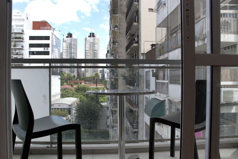 view from the balcony - Spacious and bright in Palermo - Buenos Aires - rentals