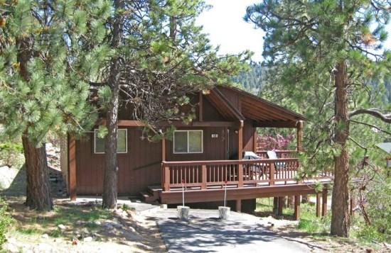 Boulder Bay Getaway - front of the cabin - Boulder Bay Getaway - 2 Bedroom Vacation Rental in Big Bear Lake - Big Bear Lake - rentals