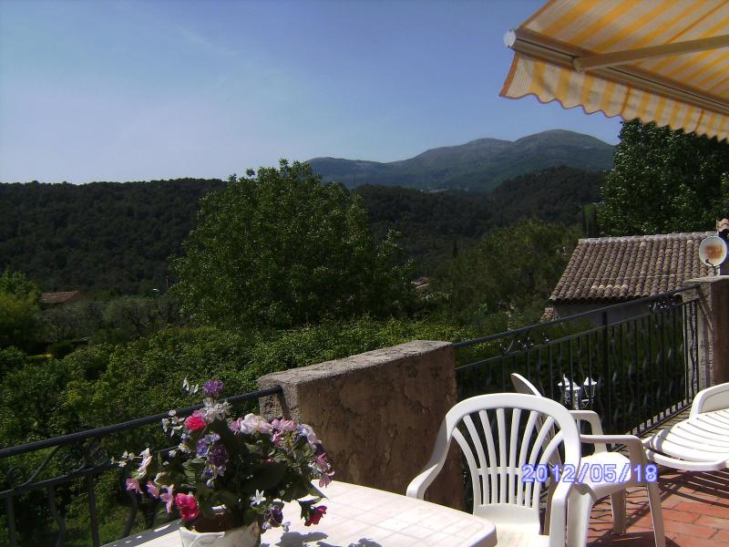 View - Villa d'Azur Vence French Riviera 2/4/6 pers. - Vence - rentals