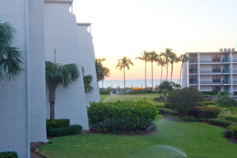 Gorgeous Gulf View from Lanai, Living Room & Bedroom - Stunning Gulf View 1BR Condo on Sanibel w/ 2 Bikes - Sanibel Island - rentals