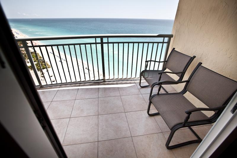 Great Ocean View from Balcony  - 3 Bedroom Oceanfront Apartment right on the beach - Sunny Isles Beach - rentals