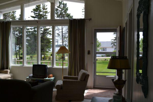 Inside-out view - Mac's 3 bdrm Cottage, Bay Shore Rd, Stanhope, PE - Stanhope - rentals