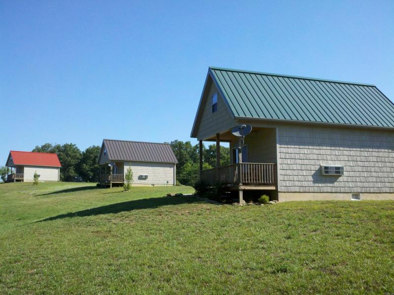 Looking North  - Southern Illinois Cabin Rental near Kinkaid Lake. - Ava - rentals