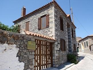 villa notia on the west side of the village - Traditional stone house in Lesvos island-Greece - Eresos - rentals