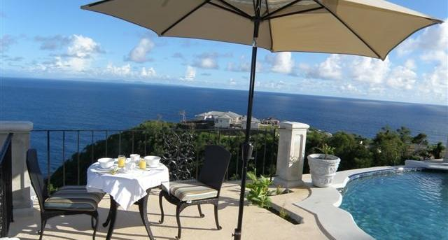 Villa Ivrea at Mount Hardy, Cap Estate, Saint Lucia - Ocean Views, Panoramic Verandas, Infinity Pool - Image 1 - Cap Estate - rentals