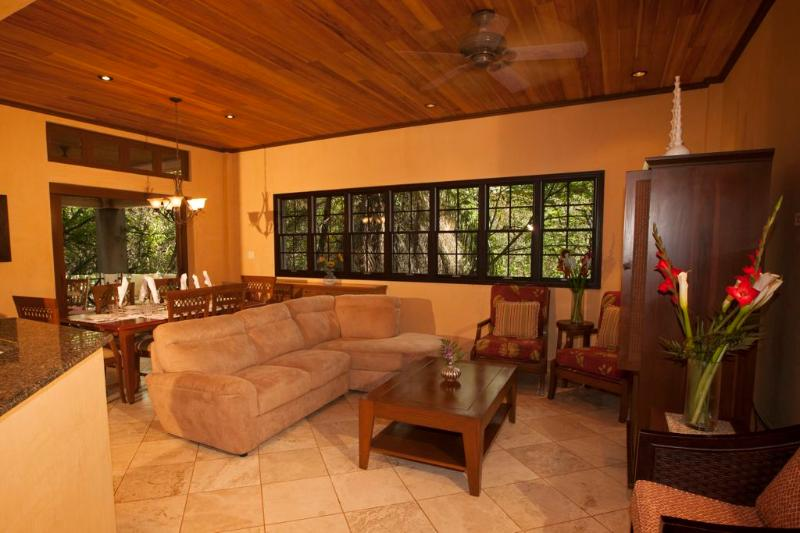 Great Room - Luxury Langosta Beach Club and Nature Park Condo - Tamarindo - rentals