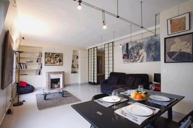 A beautiful and very quiet modern apartment just a stone's throw from Les Halles. - Image 1 - Paris - rentals