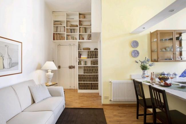 A quiet and bright apartment near Rome's archaeological district. - Image 1 - Rome - rentals