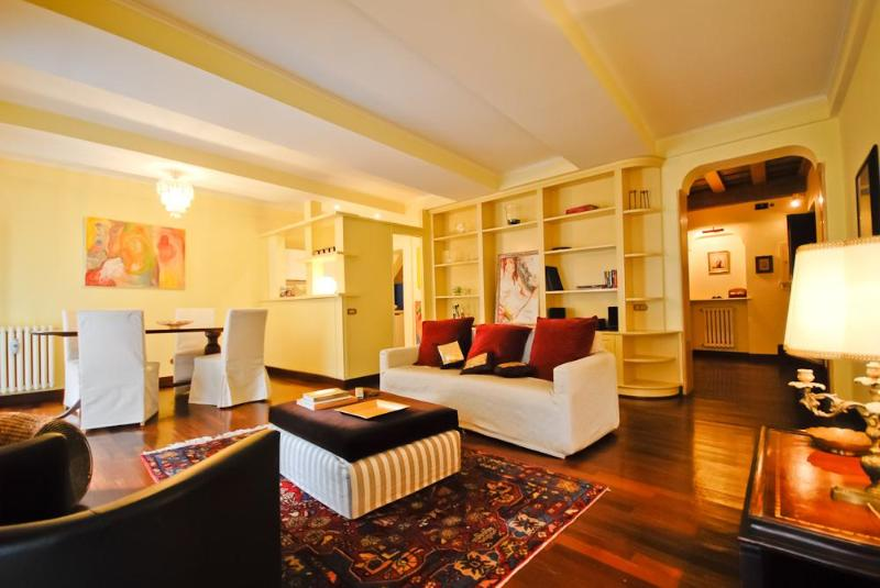 This sofa bed sleeps two guests - Luxury Apt. with view on the Pantheon! (Pantheon) - Rome - rentals
