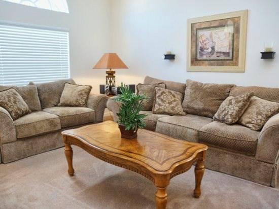 Living Area - GB4P1649MSD Cozy 4 BR Holiday Pool Home Close to Disney - Four Corners - rentals