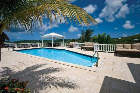 Sugar Bay House - Hilltop villa features 40 ft pool & stunning views - Image 1 - Saint Croix - rentals