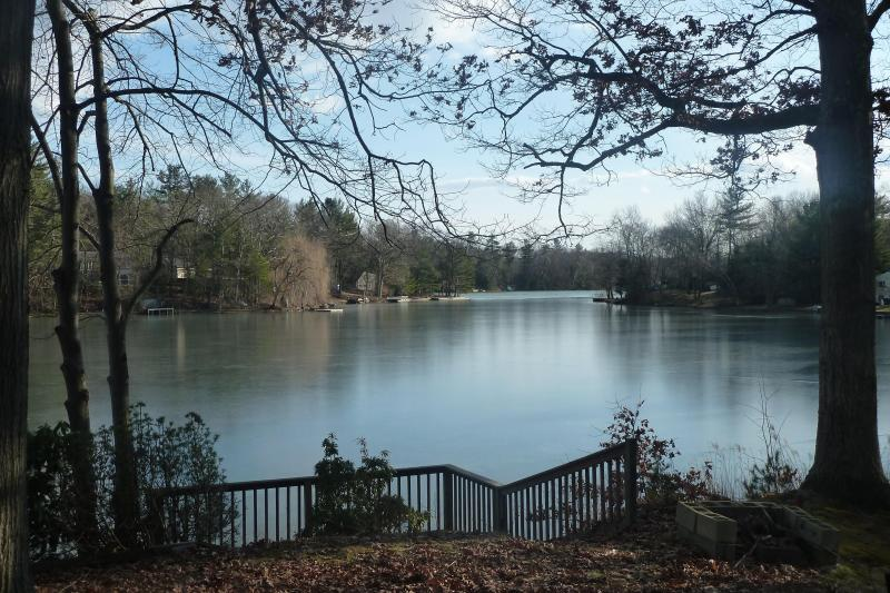 View from the Deck - Newly Renovated Lakefront Getaway on Robinson Pond - Copake - rentals