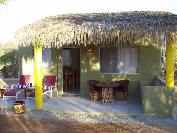 Palapa-covered private patio at Cabin - San Jose del Cabo. 3 cottages away from it all... - San Jose Del Cabo - rentals