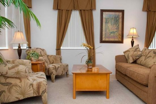 Living Area - WB5P168FVD 5 BR Villa with Pool and Spa - Davenport - rentals