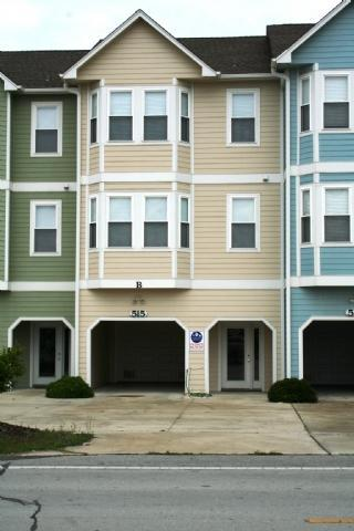 Front of Town House - Beach Wood-Topsail-3 bed 2 bath Ocean view - Surf City - rentals