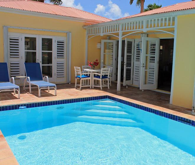 Enjoy your own private pool - Sea View at Villa Madeleine - Teague Bay - rentals