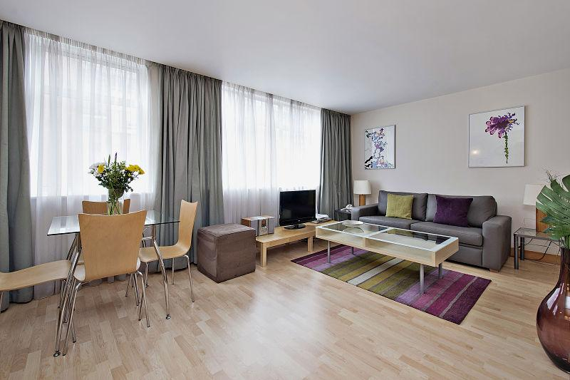 One bedroom Premium reception area - Globe Apartments - St Christopher's Place, London - London - rentals