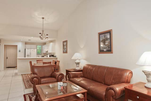 Living Area and Kitchen - Bollettieri Resort Villa O202 - Bradenton - rentals