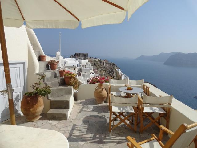 Aethra Sunset Villa,Oia,up to 9 pax,can be split!! - Image 1 - Oia - rentals