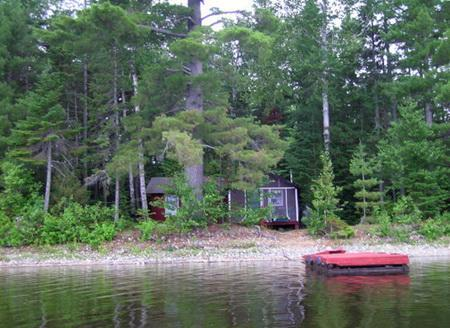 Bemsis from the Water - Spencer Pond Camps - The Bemsis - Greenville - rentals