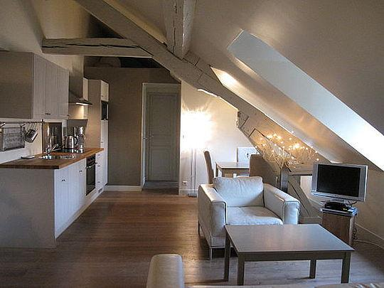 Sejour - 2 bedroom Apartment - Floor area 45 m2 - Paris 4° #3046602 - Paris - rentals