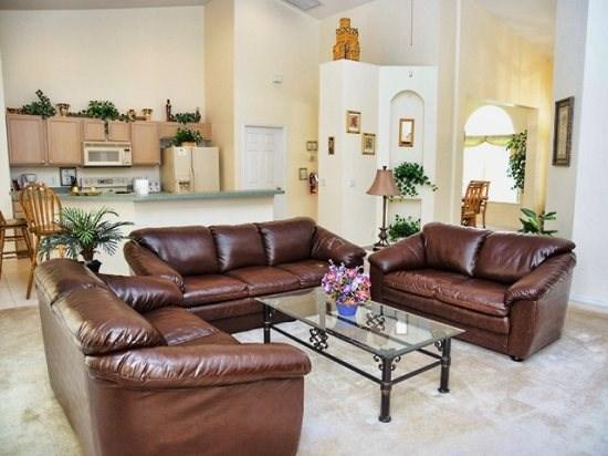 Living Area - HR5P228NHD 5 Bedroom Pool Home Stylishly Decorated - Davenport - rentals