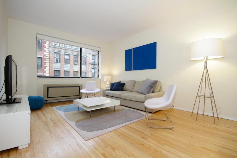 Living room - Amazing 2bed room in the heart of Hell's Kitchen! - New York City - rentals