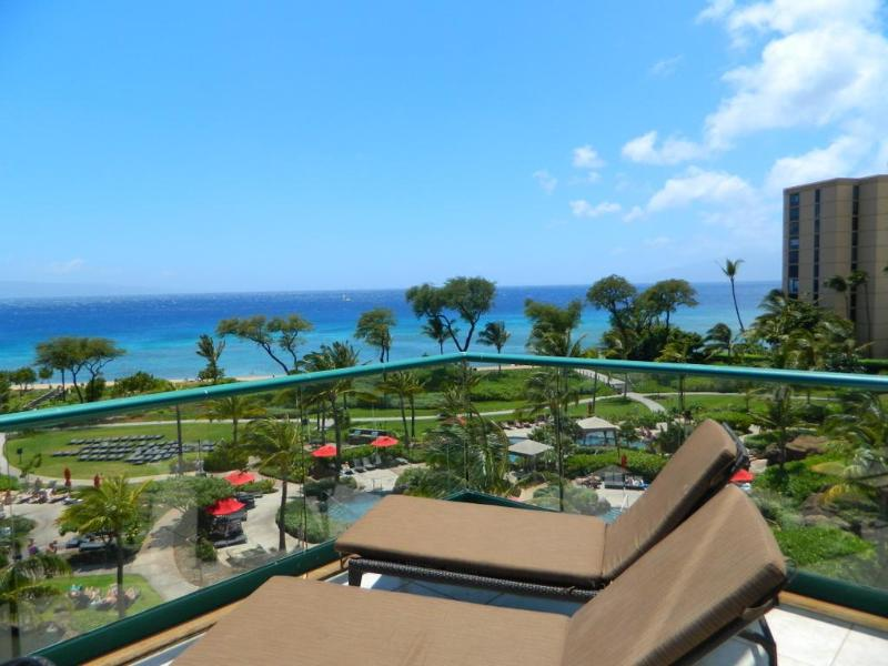 Lounge chairs - Honua Kai 2 Bedroom ALI'I SUITE - Private BBQ! - Kaanapali - rentals