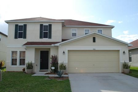 The front of the house - Sunset Haven. Luxury 4b/r pool home near Disney - Davenport - rentals