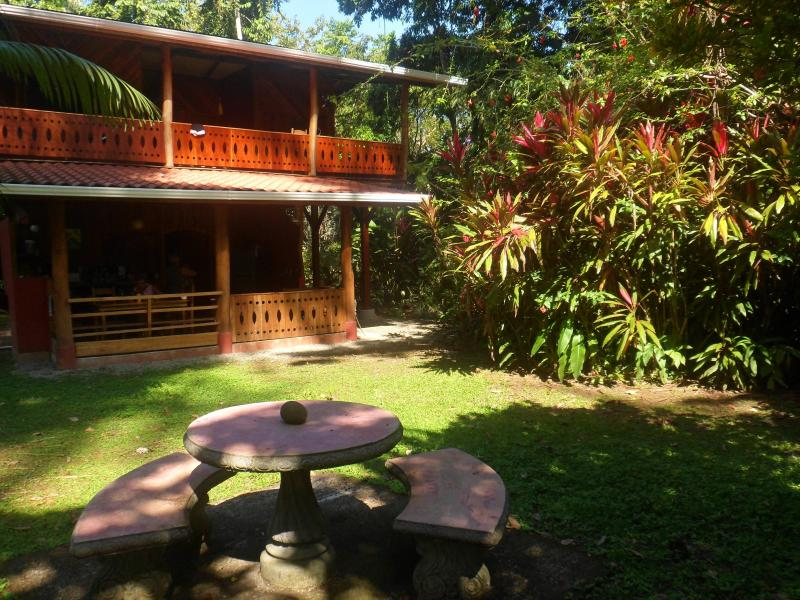 The Bird House and surrounding gardens. - Unique 3BR Jungle House on 8 acres near Beach,Town - Puerto Viejo de Talamanca - rentals
