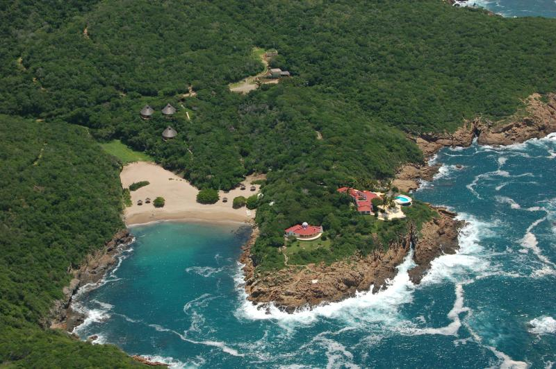 Punta Aguila aerial view - PUNTA AGUILA - Luxury Private Property - Careyes - Careyes - rentals