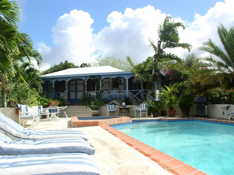 Driftwood Cottage and pool - Tropical Romantic Hideaway Cottage in Antigua - Saint John's - rentals