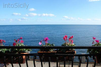 Sea view from the terrace - Waterfront house next to Santa Tecla's square - Santa Tecla - rentals