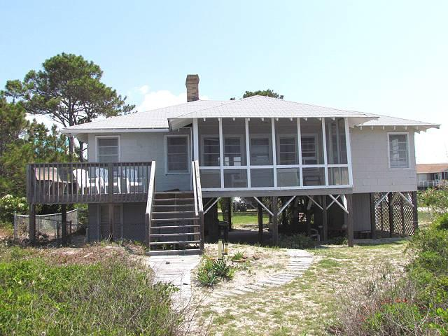 "3107 Point St - ""The Last House"" - Image 1 - Edisto Beach - rentals"